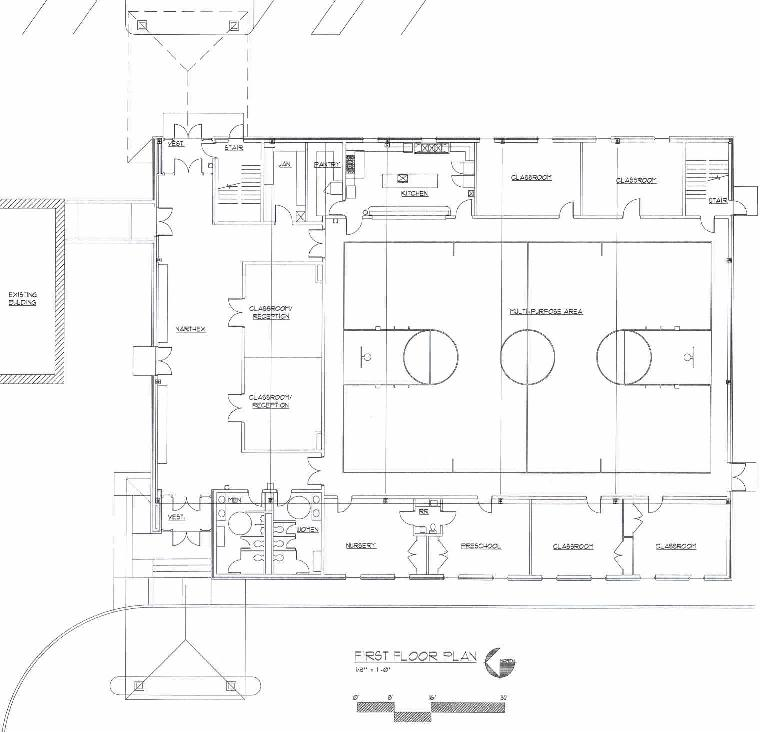Church Gym Floor Plans Rooms Pricing West Park